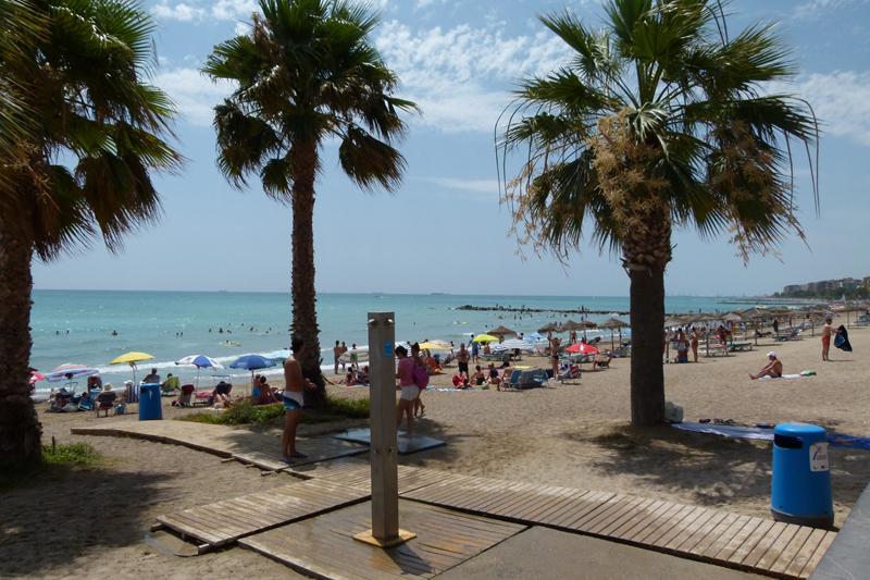 Playa acondicionada